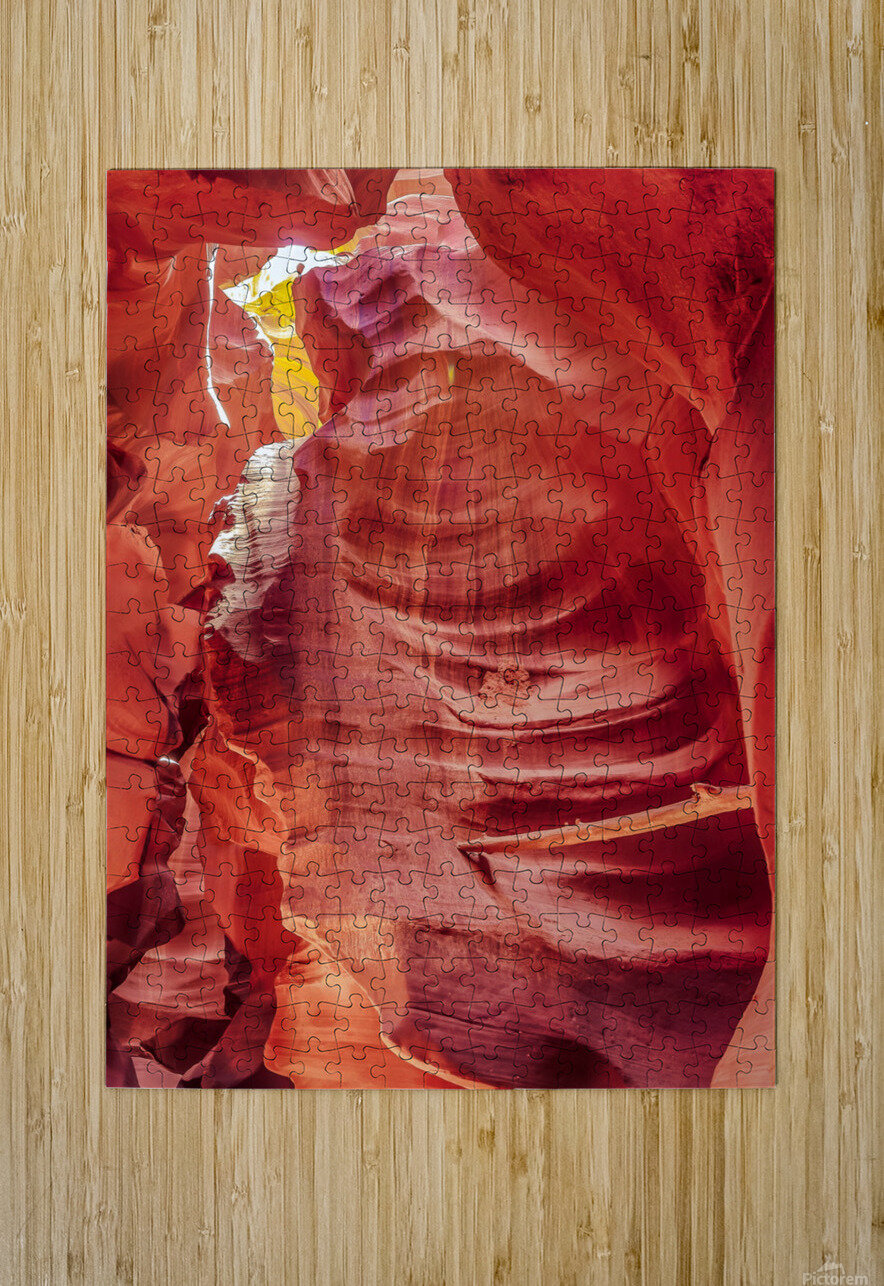 Upper Antelope Canyon 7  HD Metal print with Floating Frame on Back