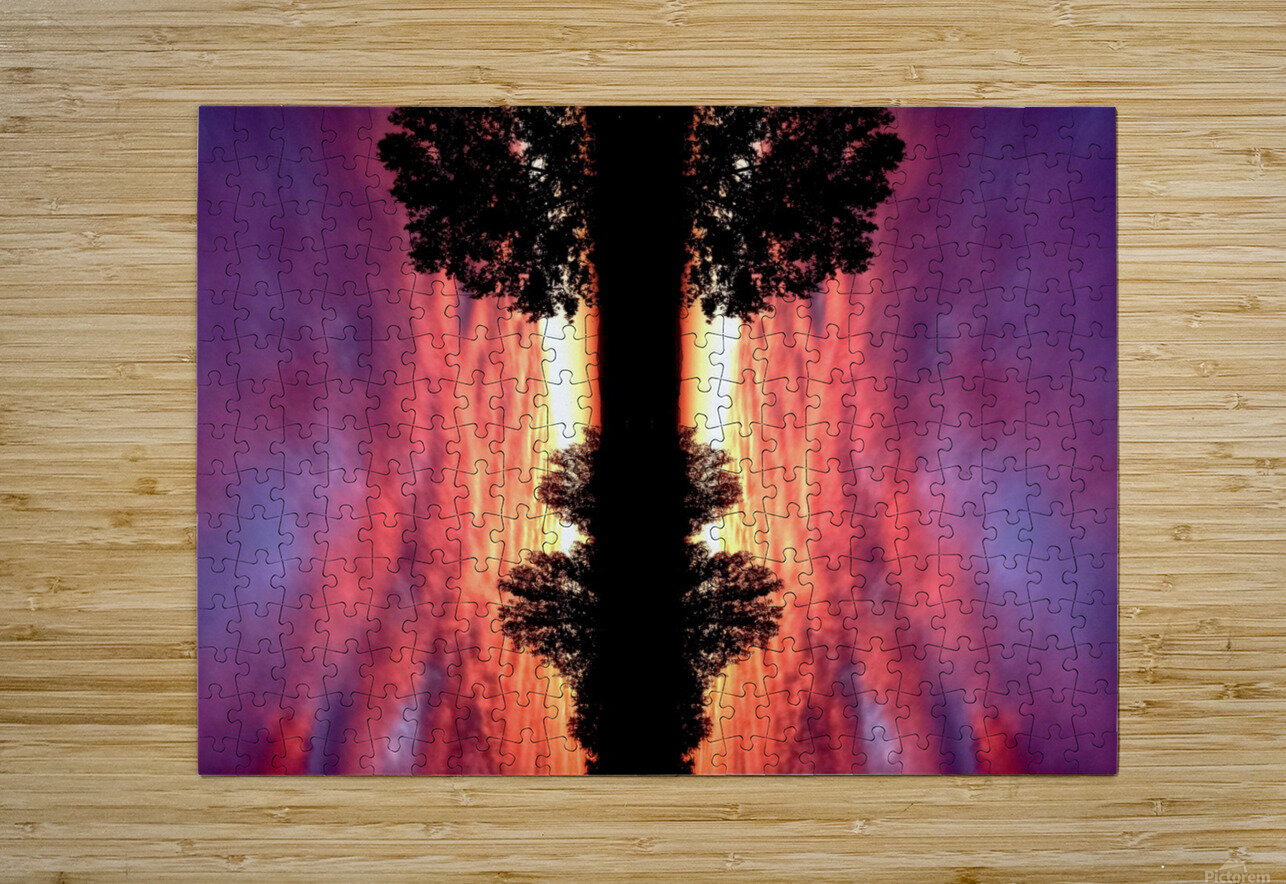 nube 43  HD Metal print with Floating Frame on Back