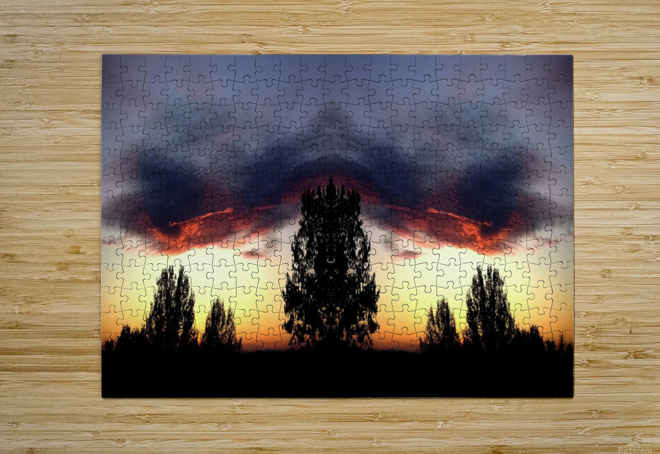 nube 49  HD Metal print with Floating Frame on Back