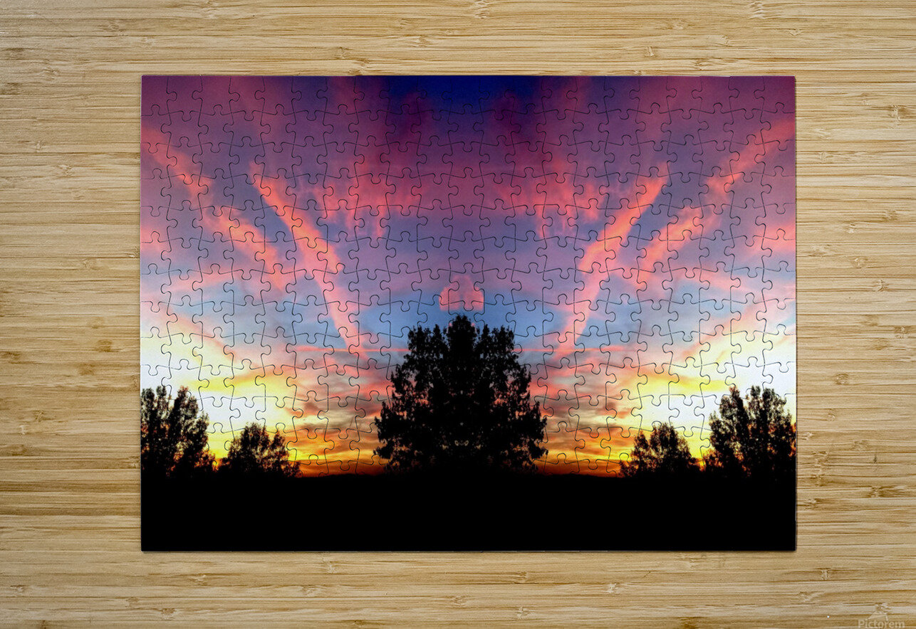 nube 58  HD Metal print with Floating Frame on Back