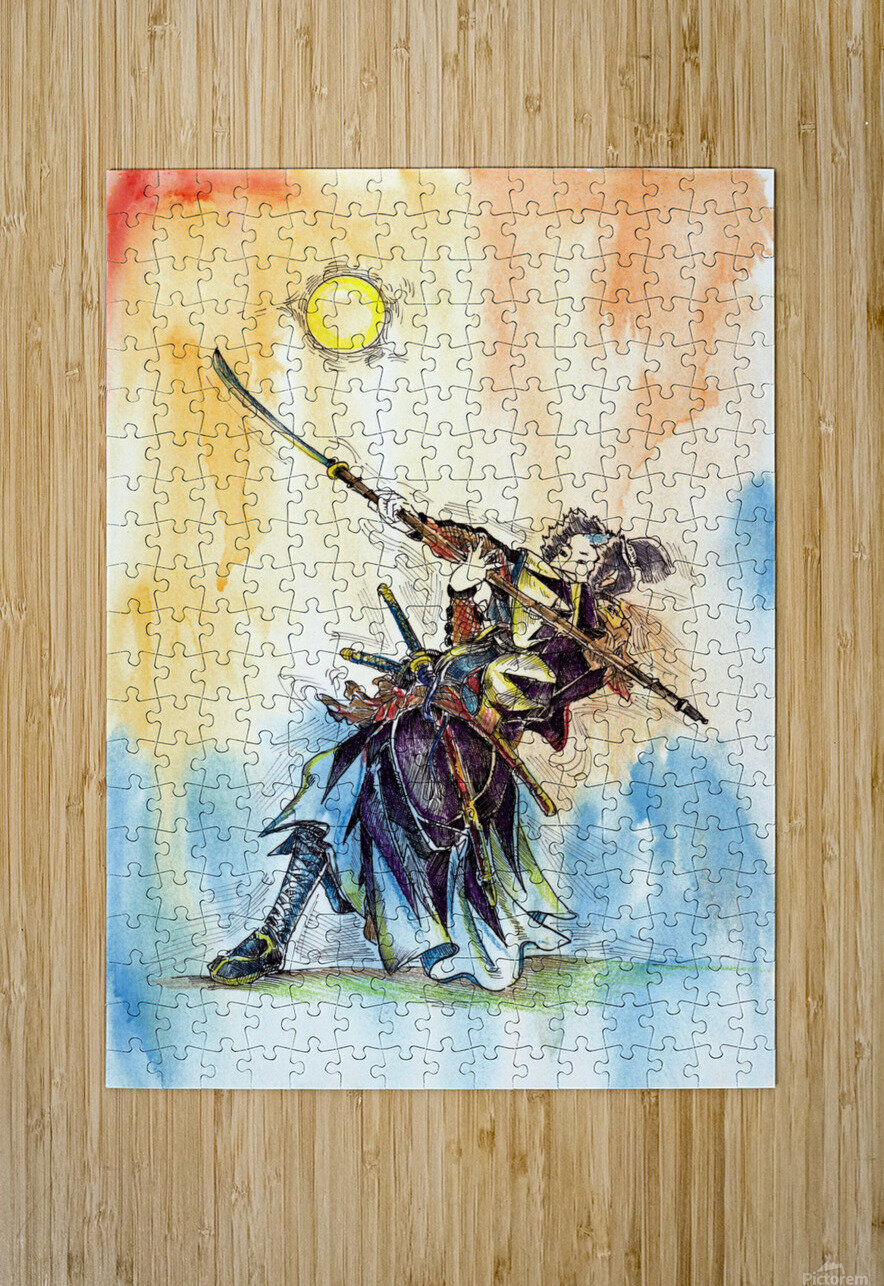 The_Warrior_s_Way  HD Metal print with Floating Frame on Back