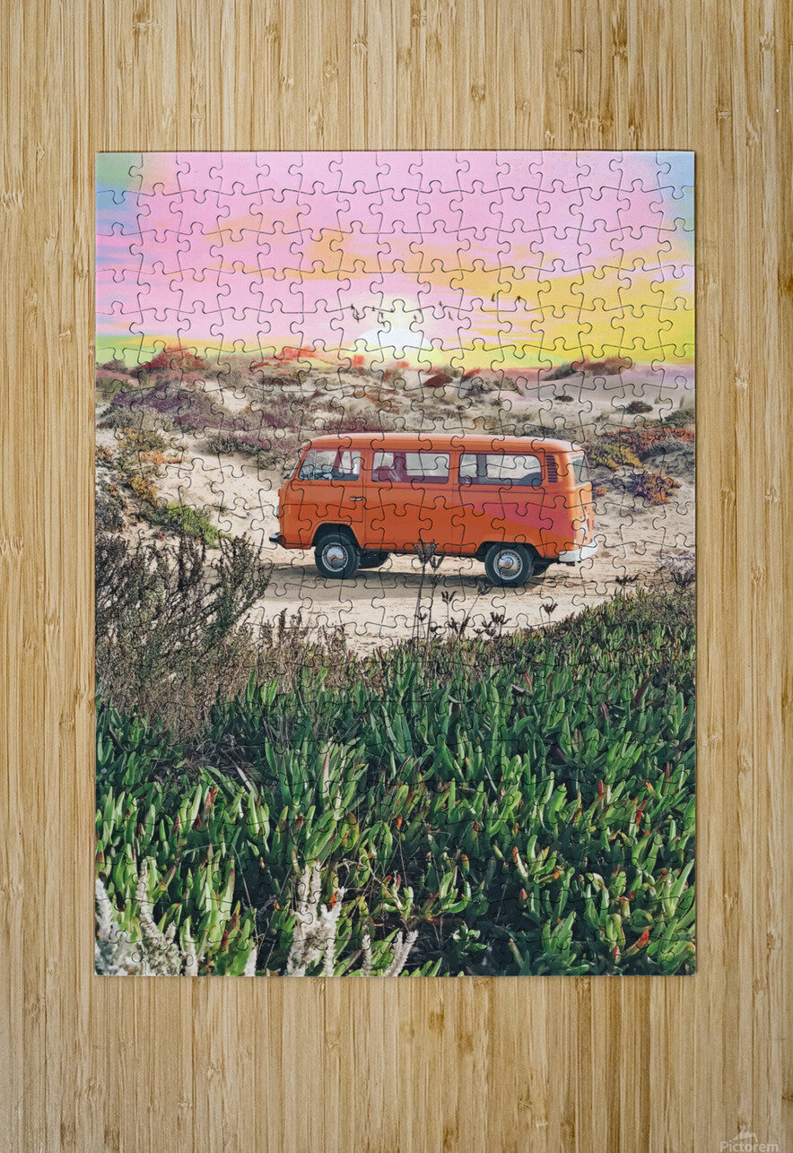 Summer Adventure  HD Metal print with Floating Frame on Back