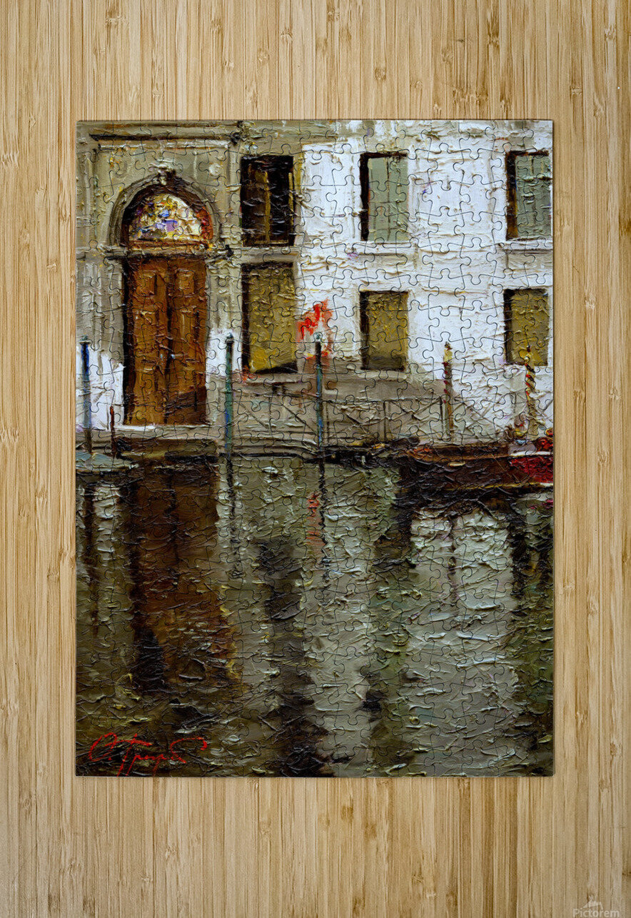 In_Venice  HD Metal print with Floating Frame on Back