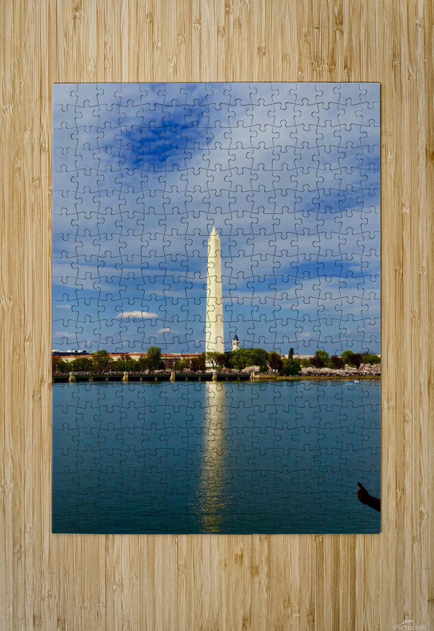 Washington Monument  HD Metal print with Floating Frame on Back