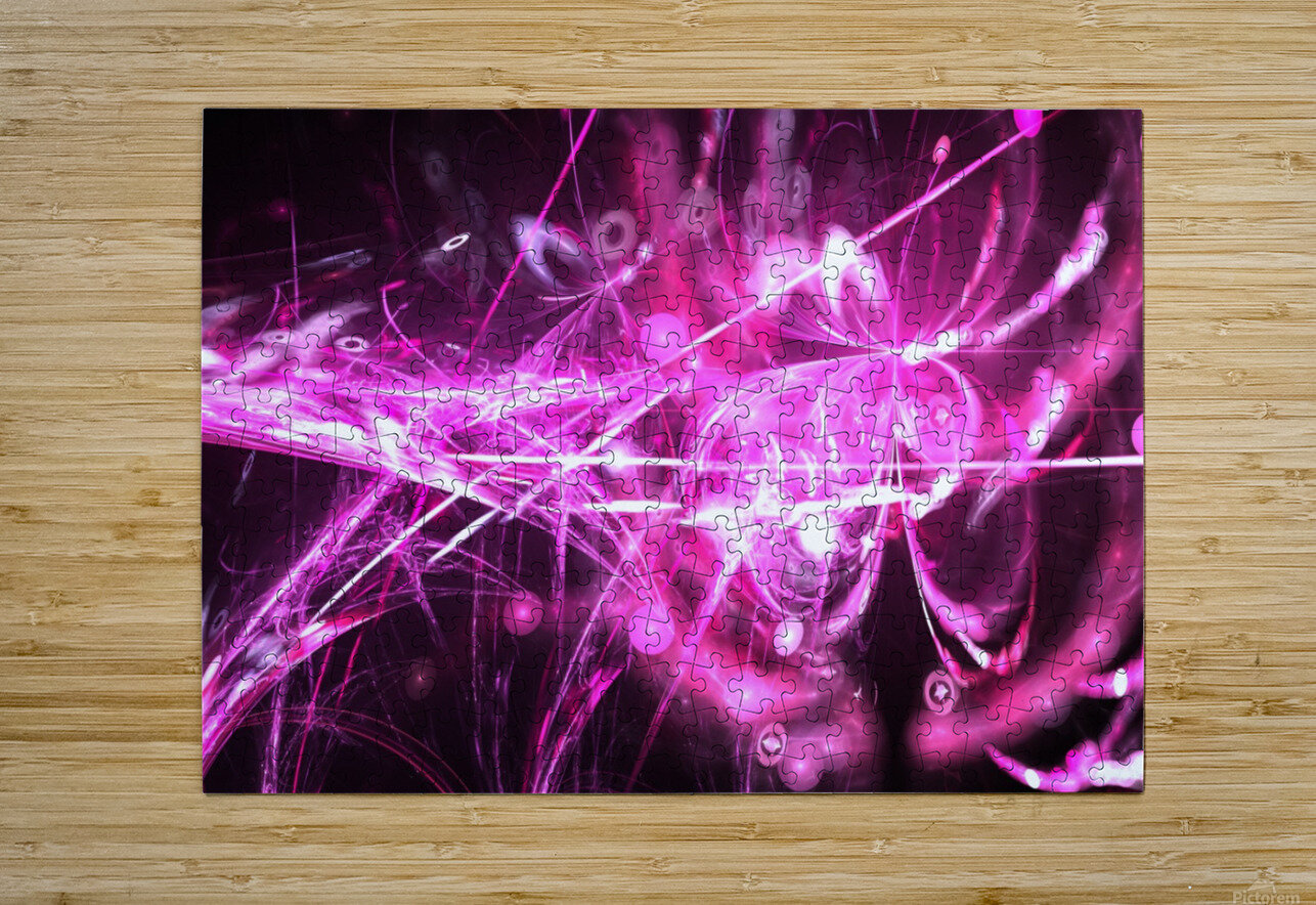 Blooming lilac  HD Metal print with Floating Frame on Back