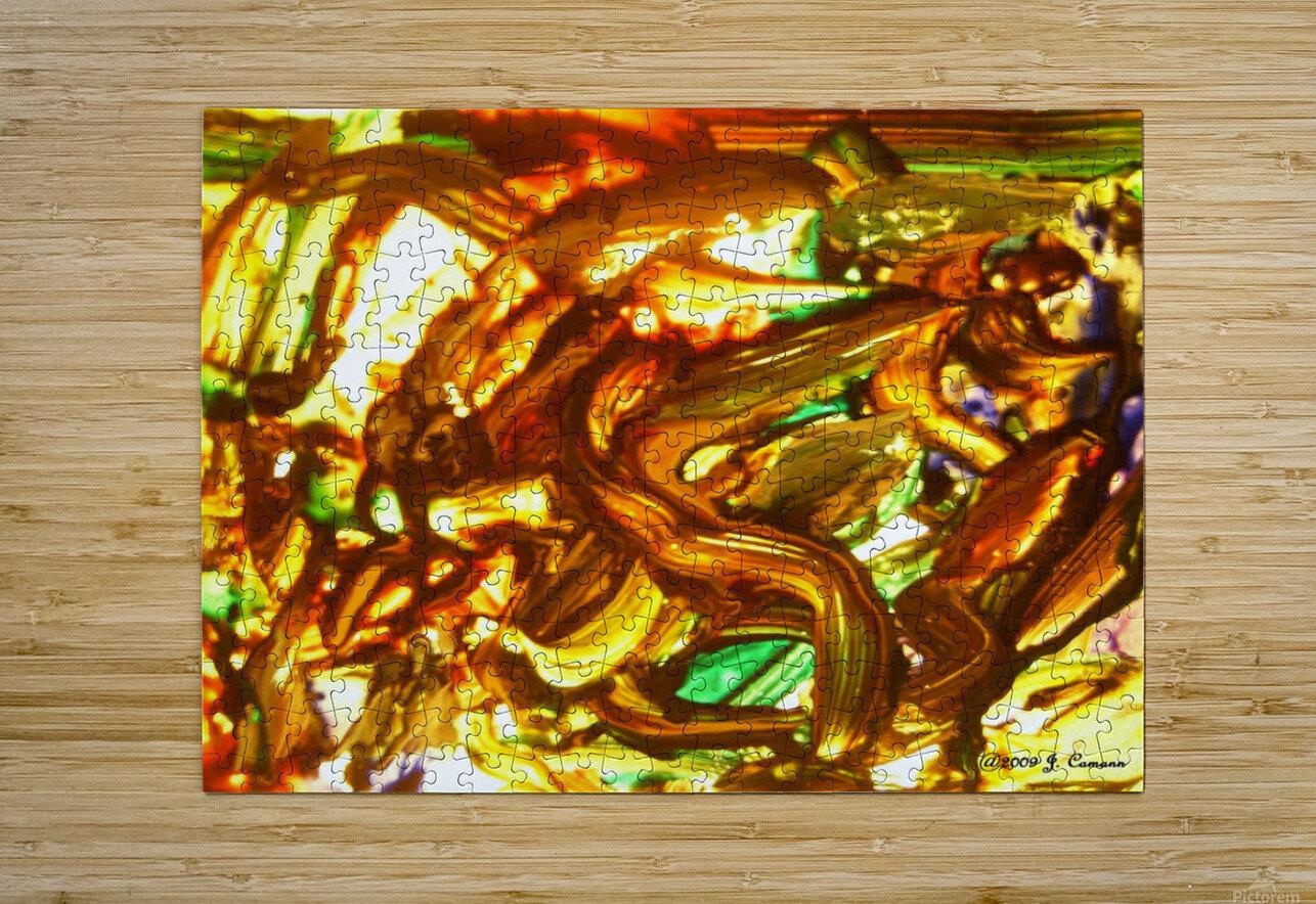 Exaltation Acoustic Version  HD Metal print with Floating Frame on Back