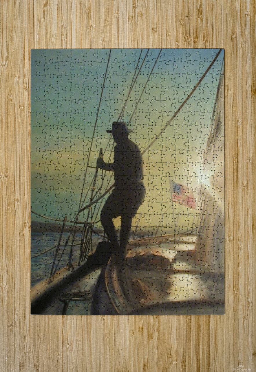 the good life  HD Metal print with Floating Frame on Back
