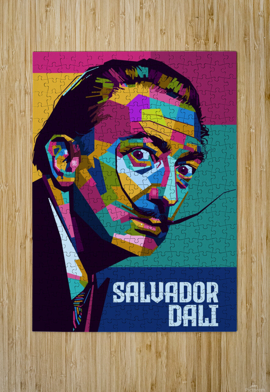 salvador dali  HD Metal print with Floating Frame on Back