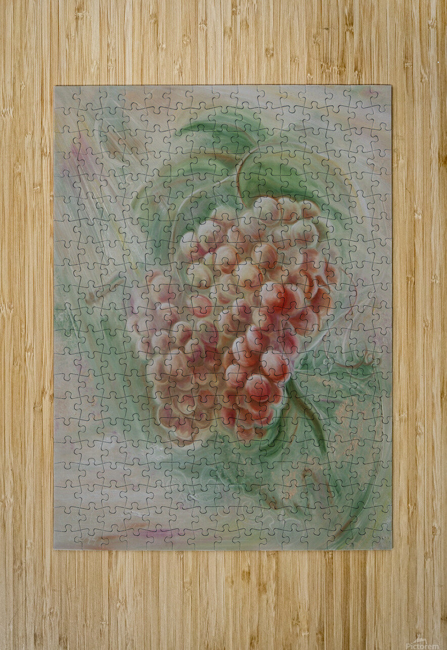 Grapes 14  HD Metal print with Floating Frame on Back