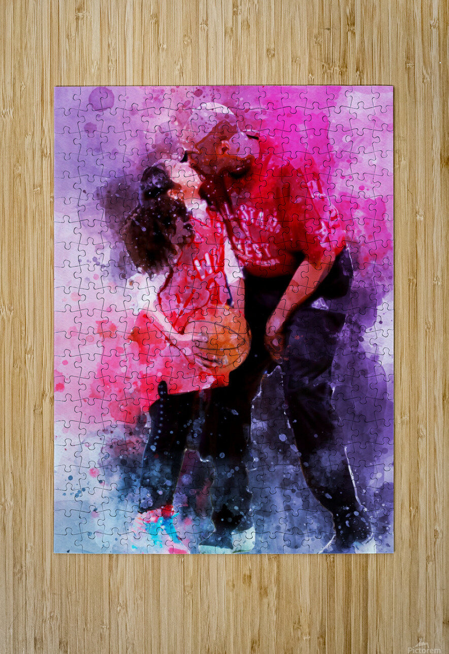Gianna and kobe bryant  HD Metal print with Floating Frame on Back
