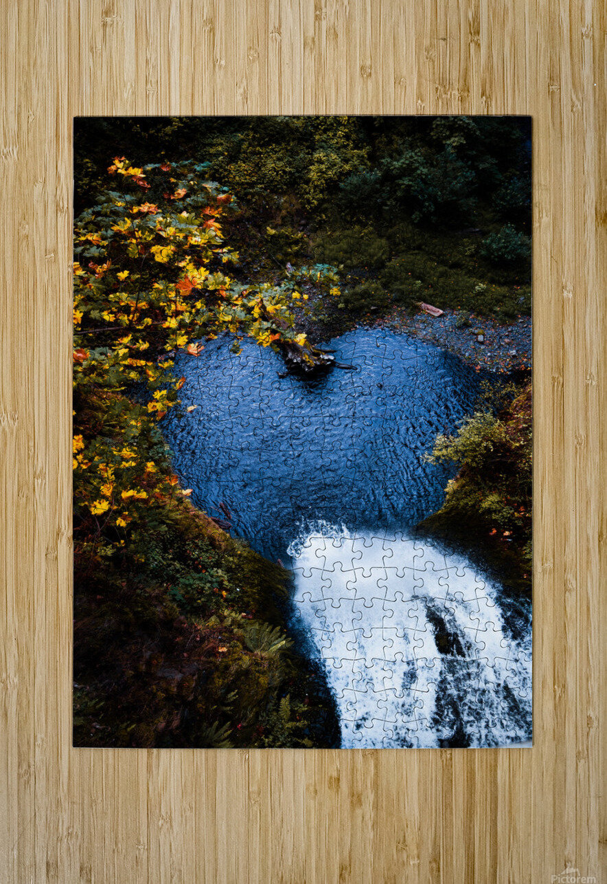 Nature Love  HD Metal print with Floating Frame on Back