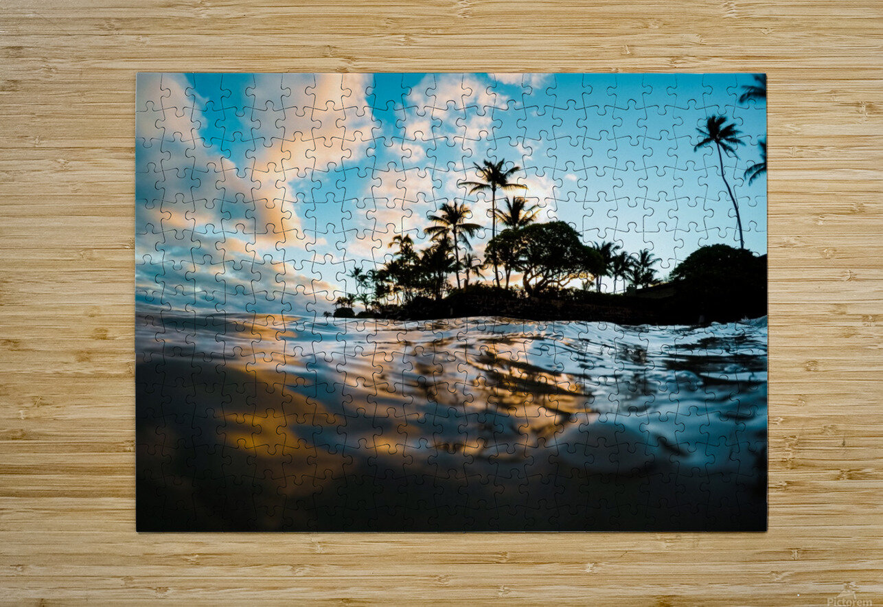 Lost at Sea  HD Metal print with Floating Frame on Back