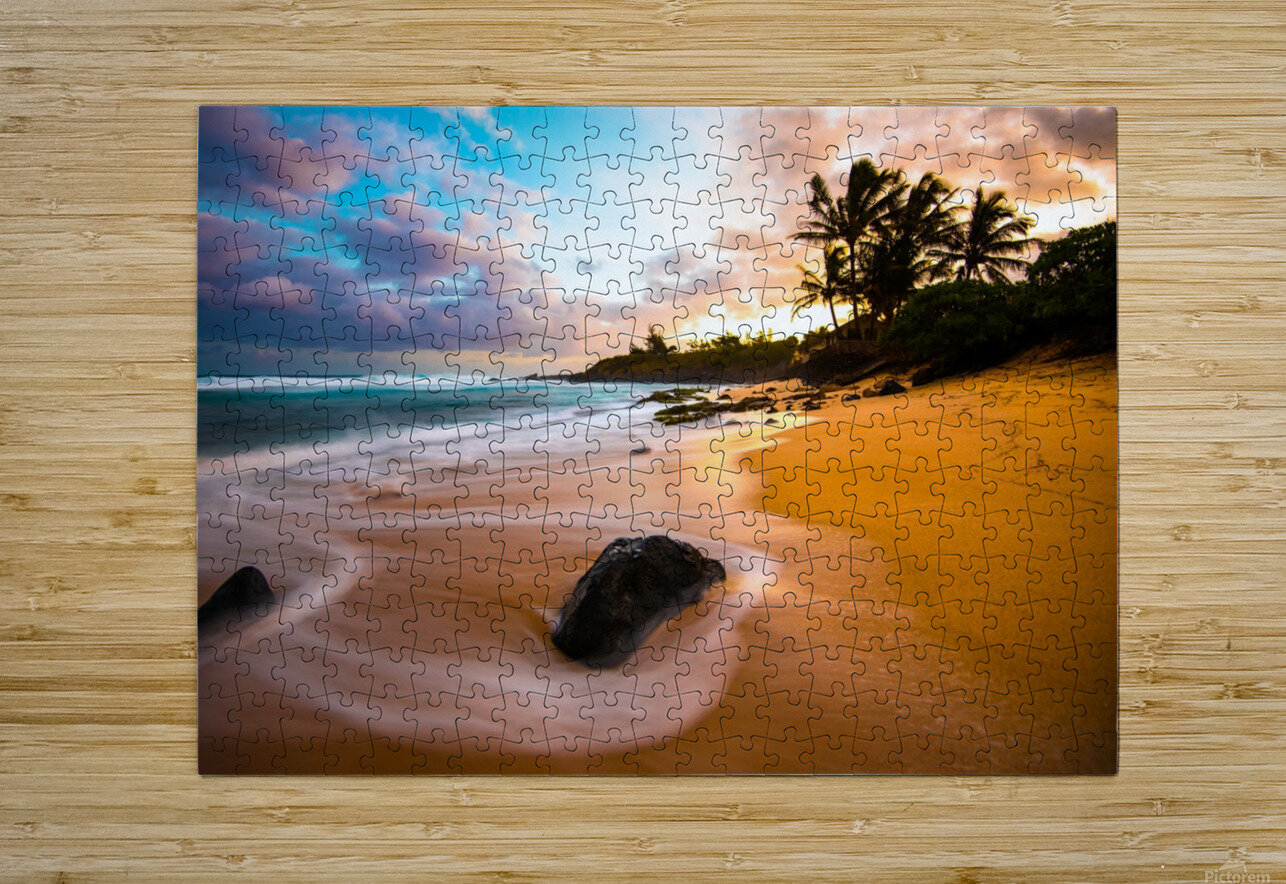 Morning Magic  HD Metal print with Floating Frame on Back