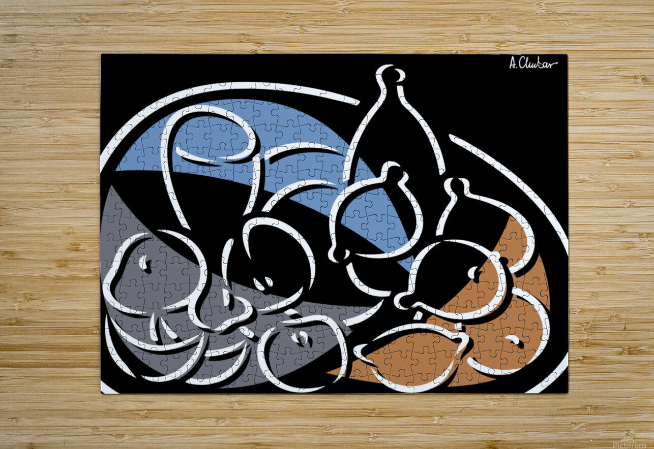 Still Life 6  HD Metal print with Floating Frame on Back