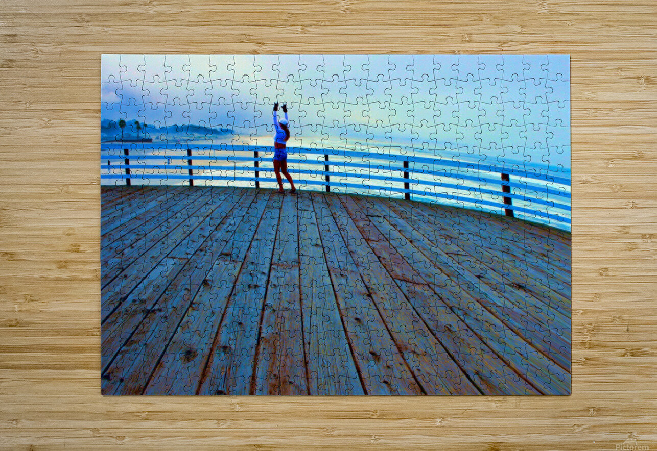 IMG_6973  HD Metal print with Floating Frame on Back
