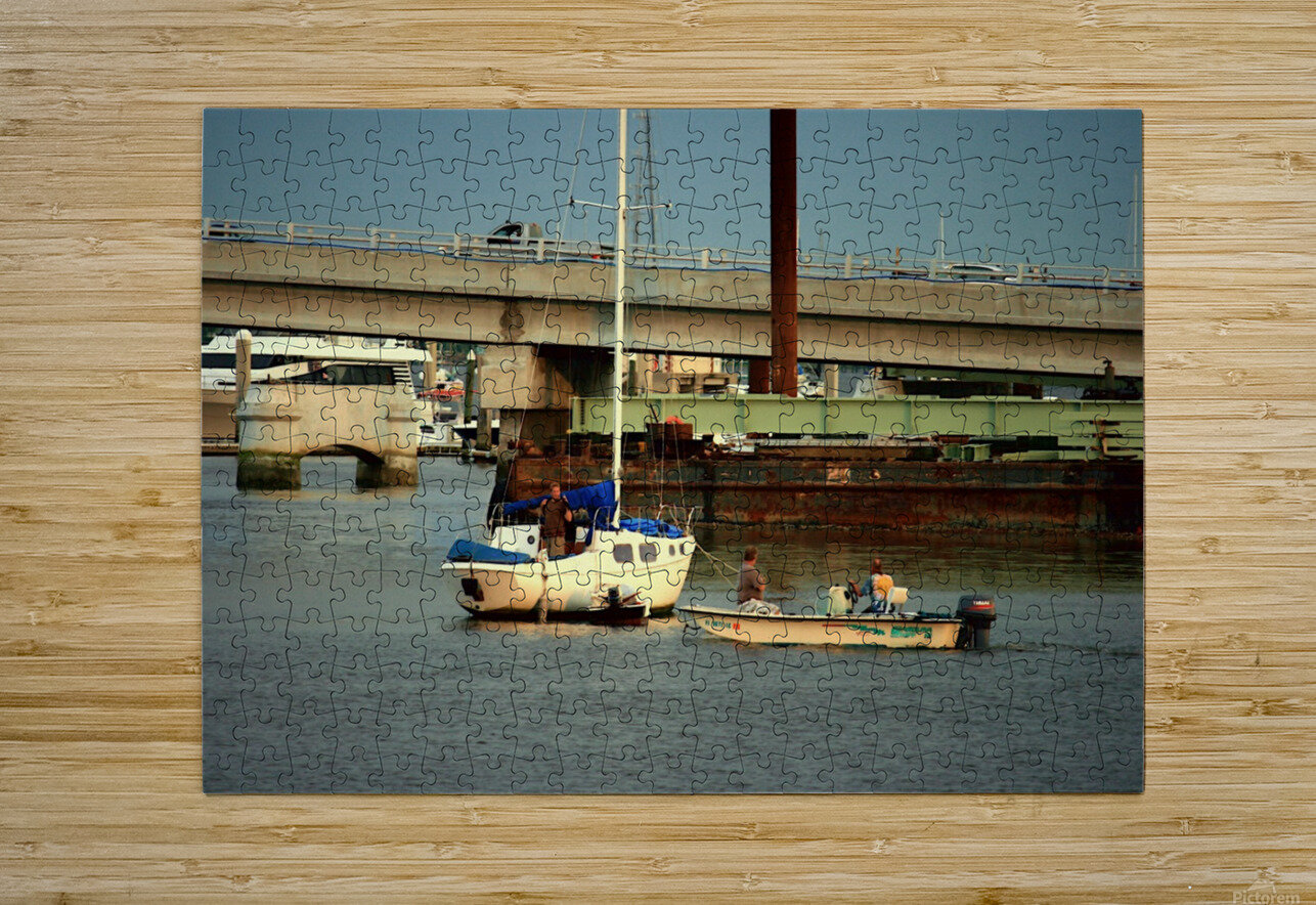Picture079  HD Metal print with Floating Frame on Back
