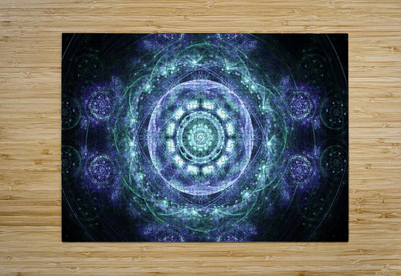 Morning awakening  HD Metal print with Floating Frame on Back