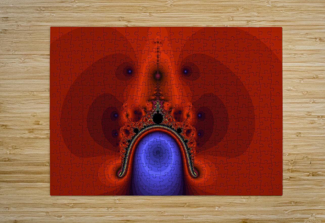 Fractal Pattern 12  HD Metal print with Floating Frame on Back