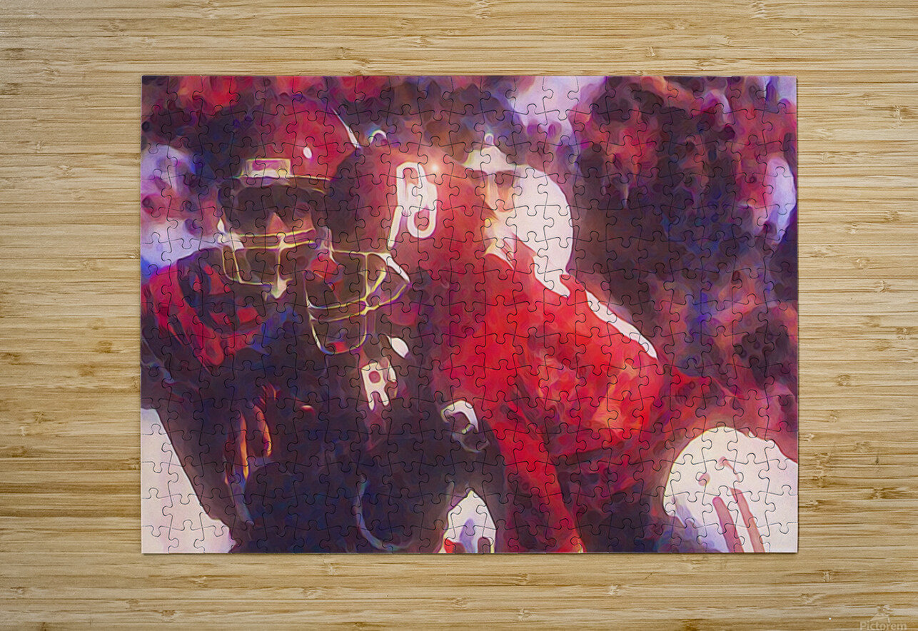 Holieway Handoff II  HD Metal print with Floating Frame on Back