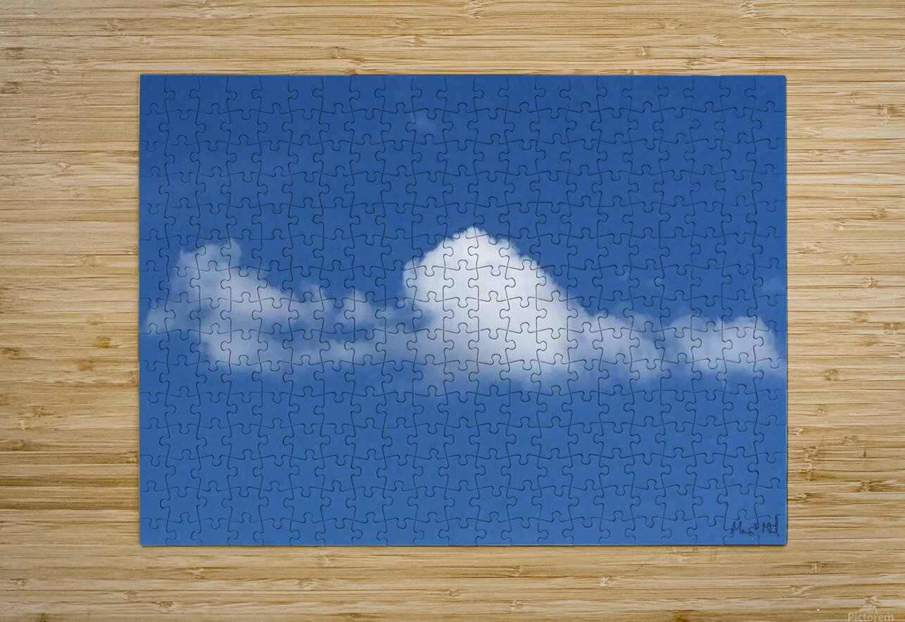 MacPan Clouds from Maurice Elliott McLeod  HD Metal print with Floating Frame on Back