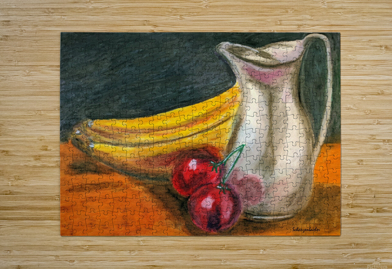 Fruit for Lunch  HD Metal print with Floating Frame on Back