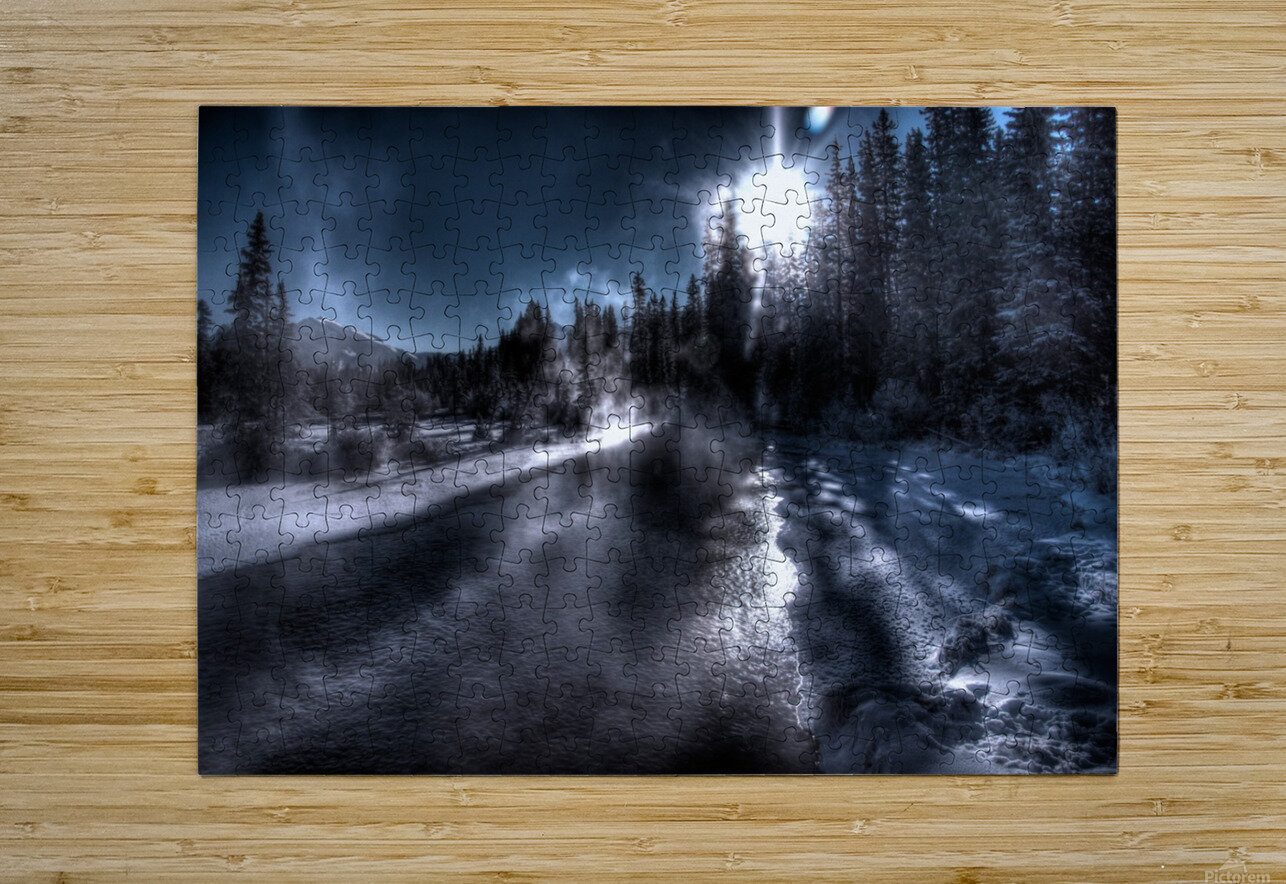 Policemans Creek _ 37 Degrees Celcius  HD Metal print with Floating Frame on Back