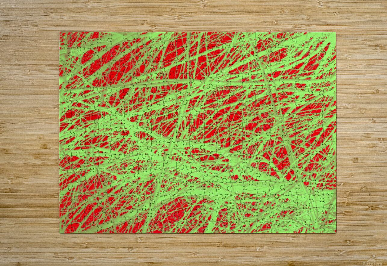 Tree-Line Drawing  HD Metal print with Floating Frame on Back