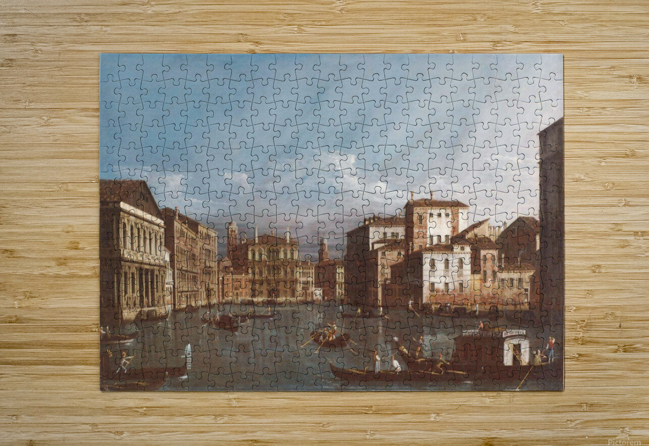 Arno in Florence  HD Metal print with Floating Frame on Back