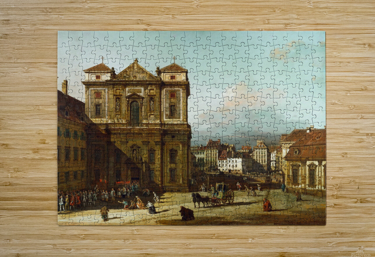 Procession in Dresden  HD Metal print with Floating Frame on Back
