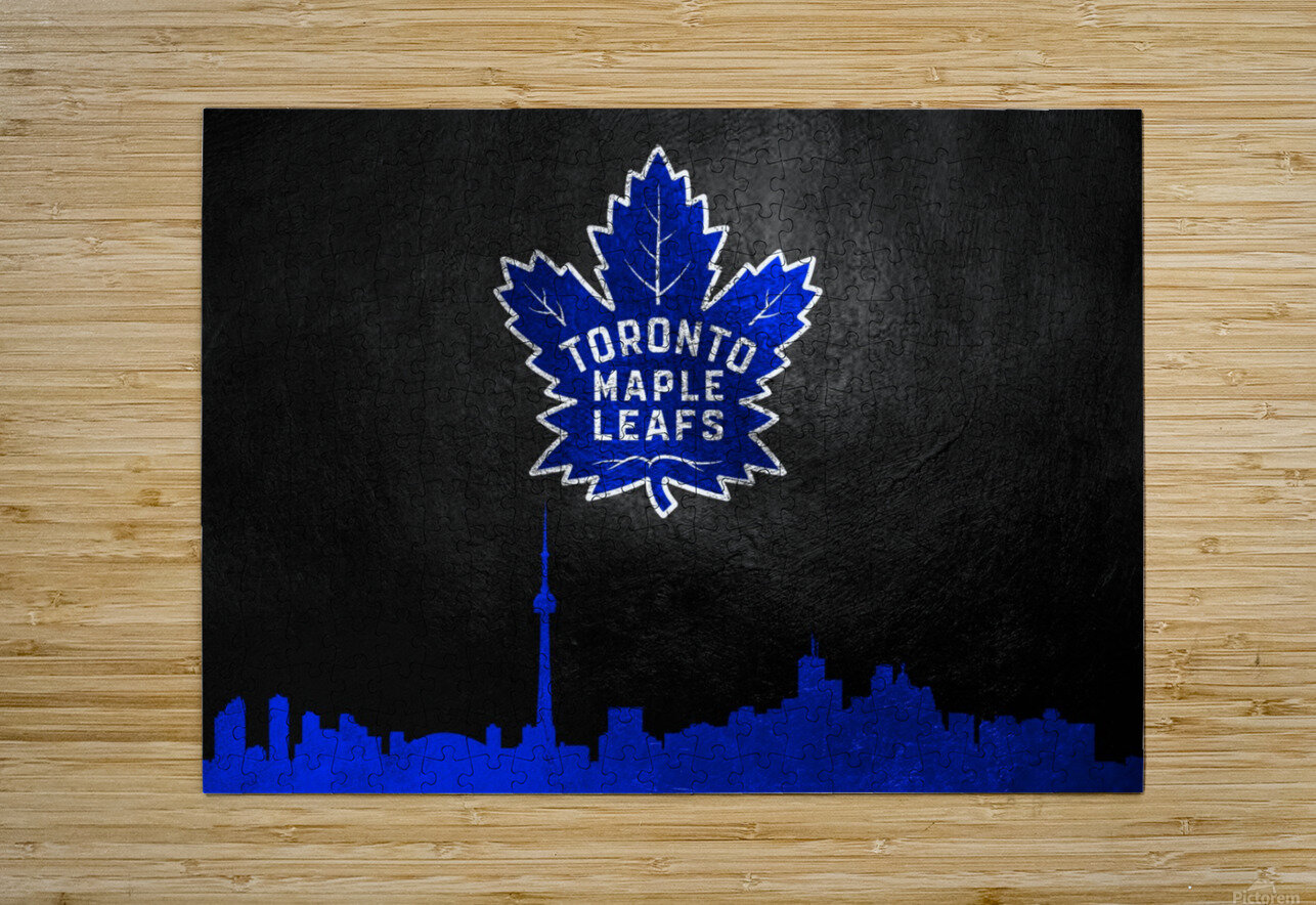 Toronto Maple Leafs  HD Metal print with Floating Frame on Back