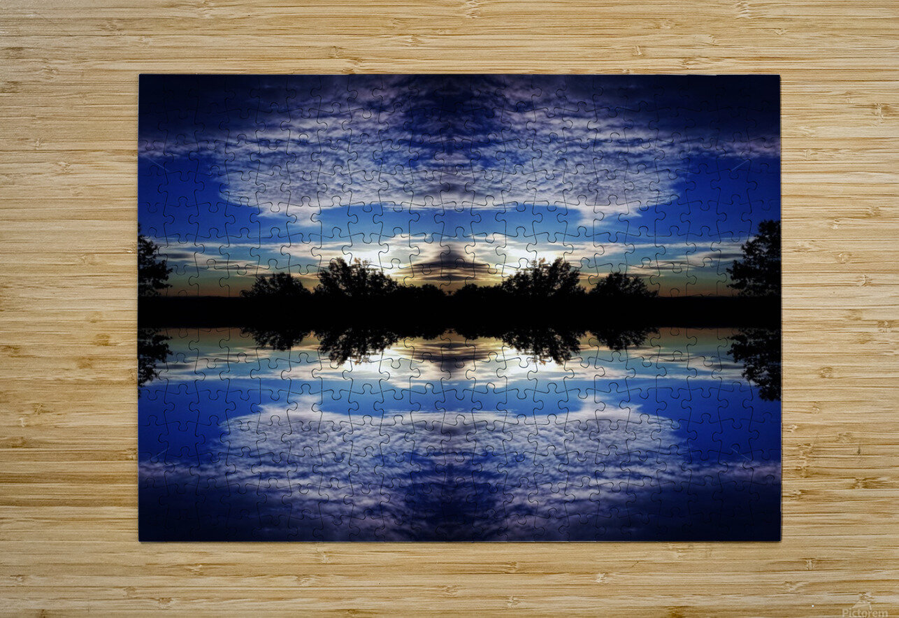 Cloudes 97  HD Metal print with Floating Frame on Back