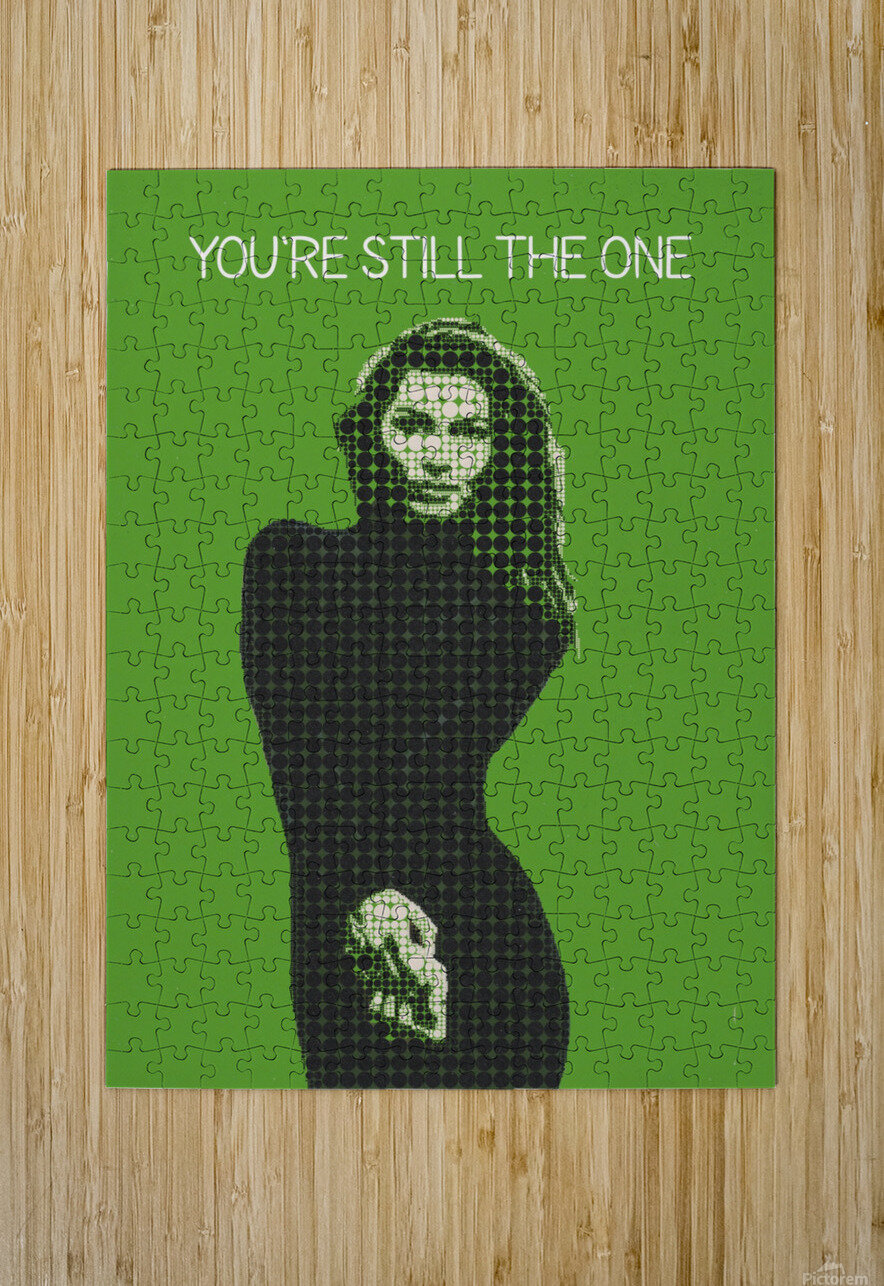 youre still the one   Shania Twain  HD Metal print with Floating Frame on Back