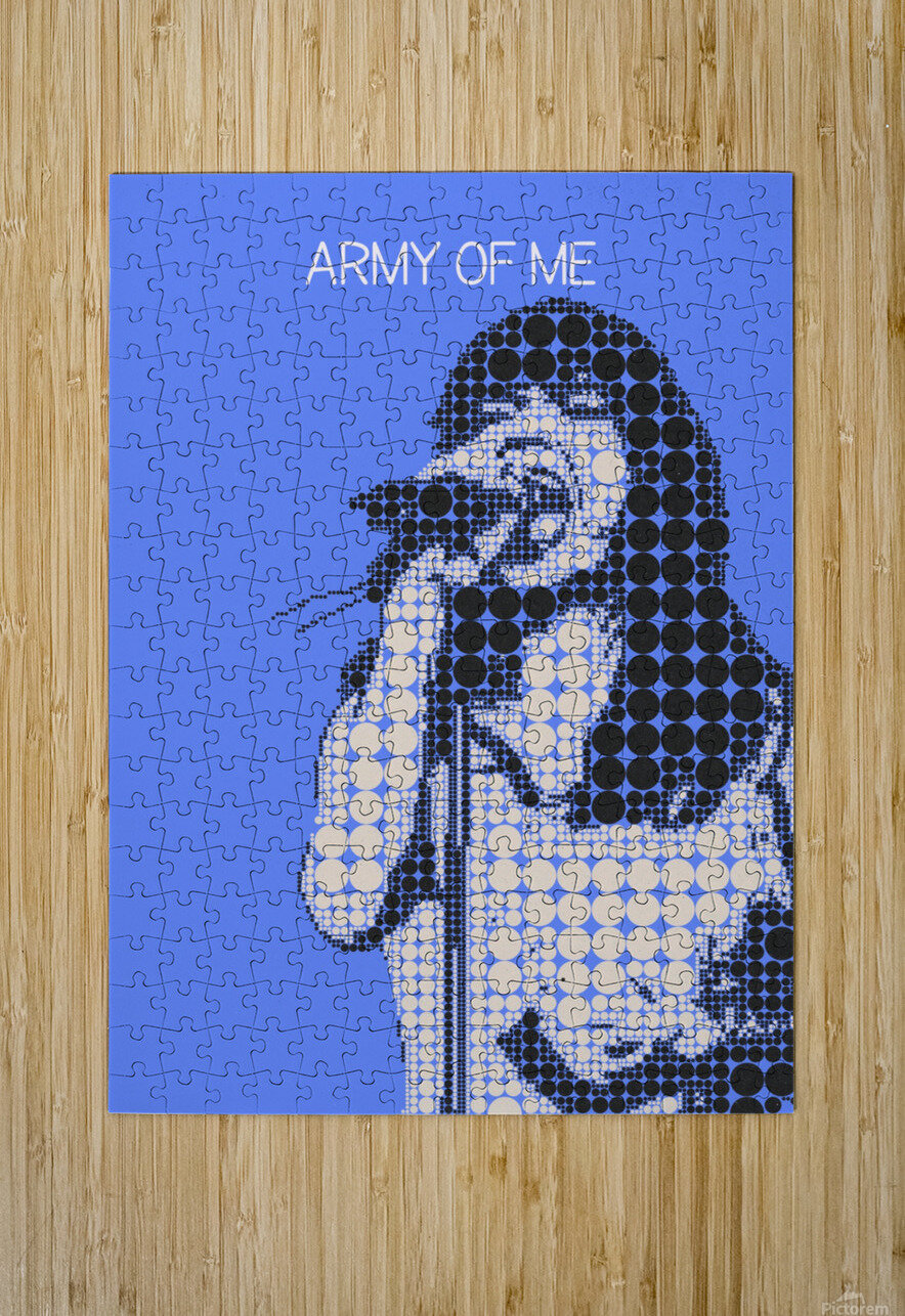 army of me   Bjork  HD Metal print with Floating Frame on Back