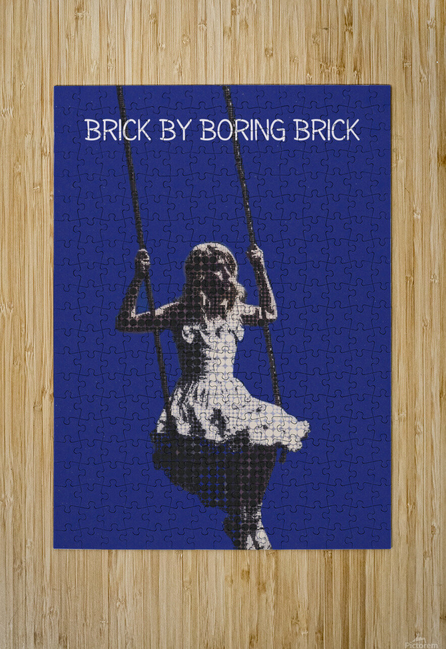 Brick By Boring Brick   Hayley Williams   Paramore  HD Metal print with Floating Frame on Back