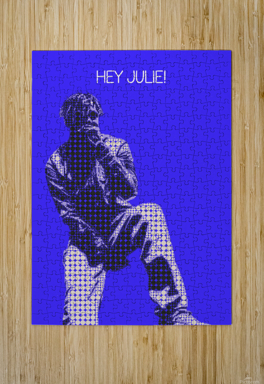 hey julie   Lil Yachty  HD Metal print with Floating Frame on Back