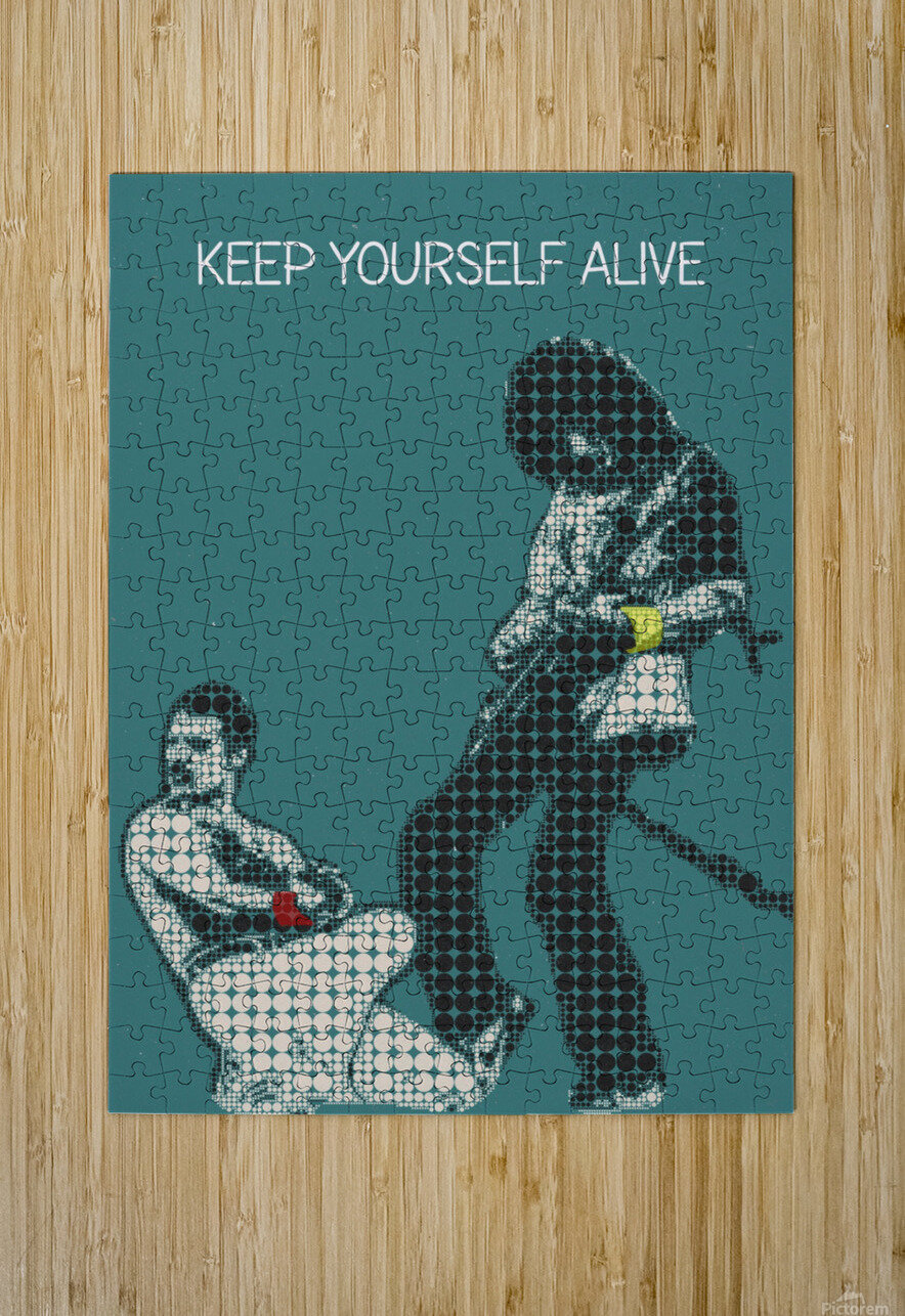 Keep Yourself Alive   Queen  HD Metal print with Floating Frame on Back