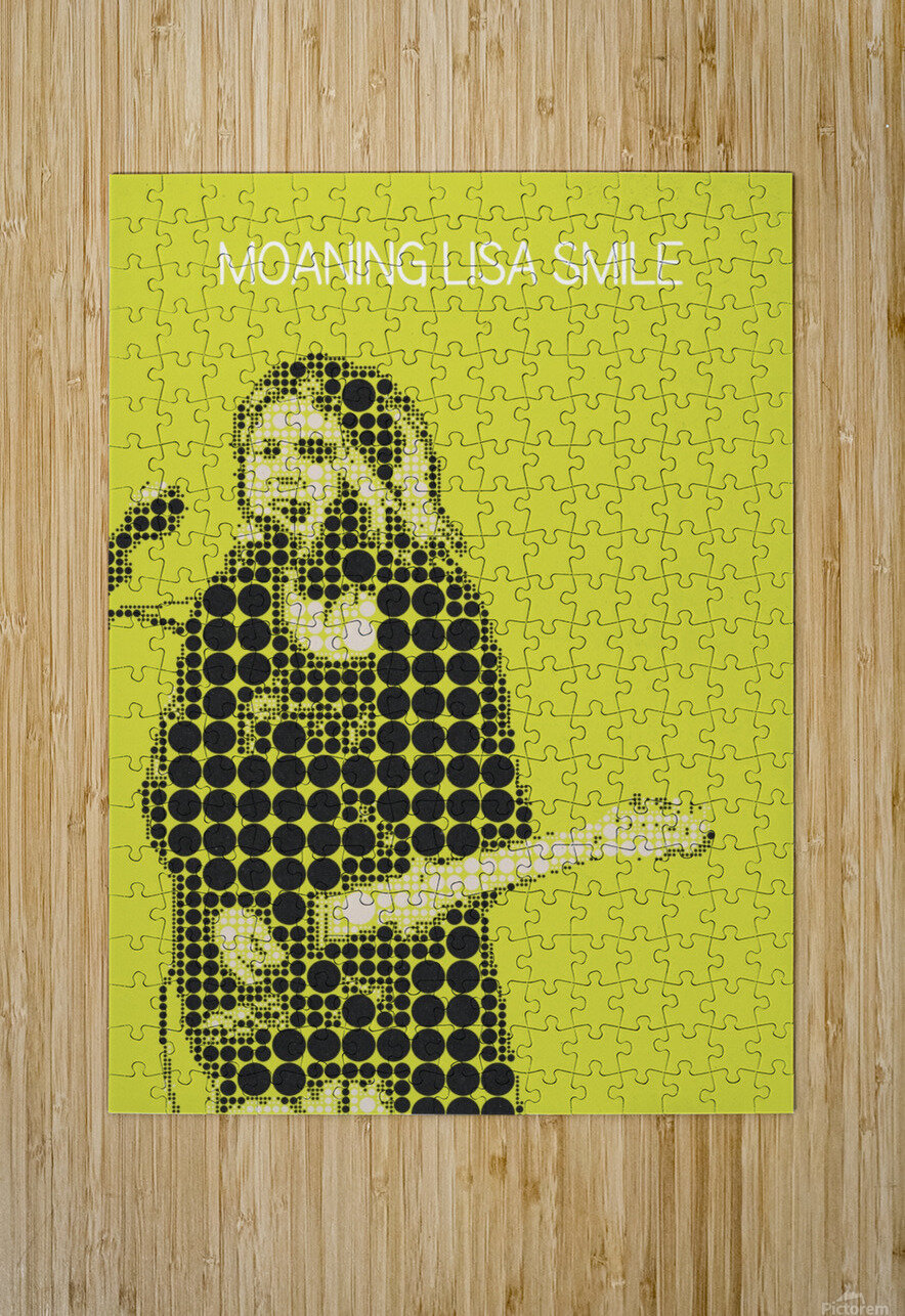 Moaning Lisa Smile   Wolf Alice  HD Metal print with Floating Frame on Back