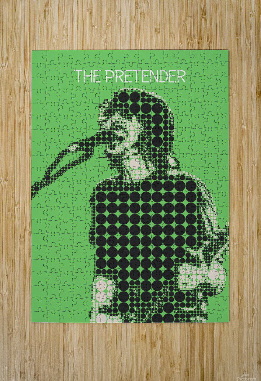 The Pretender   Dave Grohl  HD Metal print with Floating Frame on Back