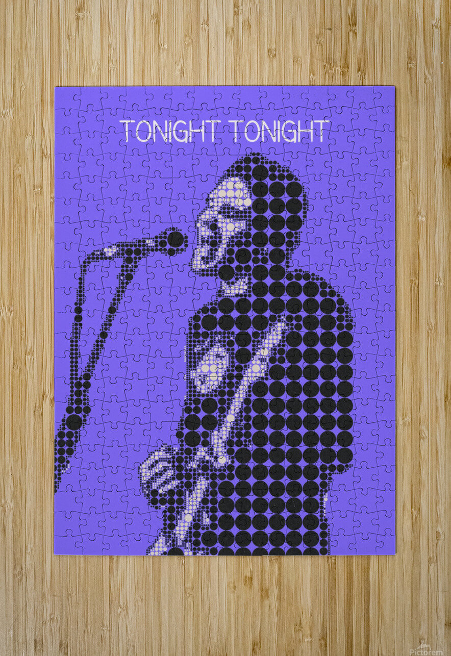 tonight tonight   billy Corgan  HD Metal print with Floating Frame on Back