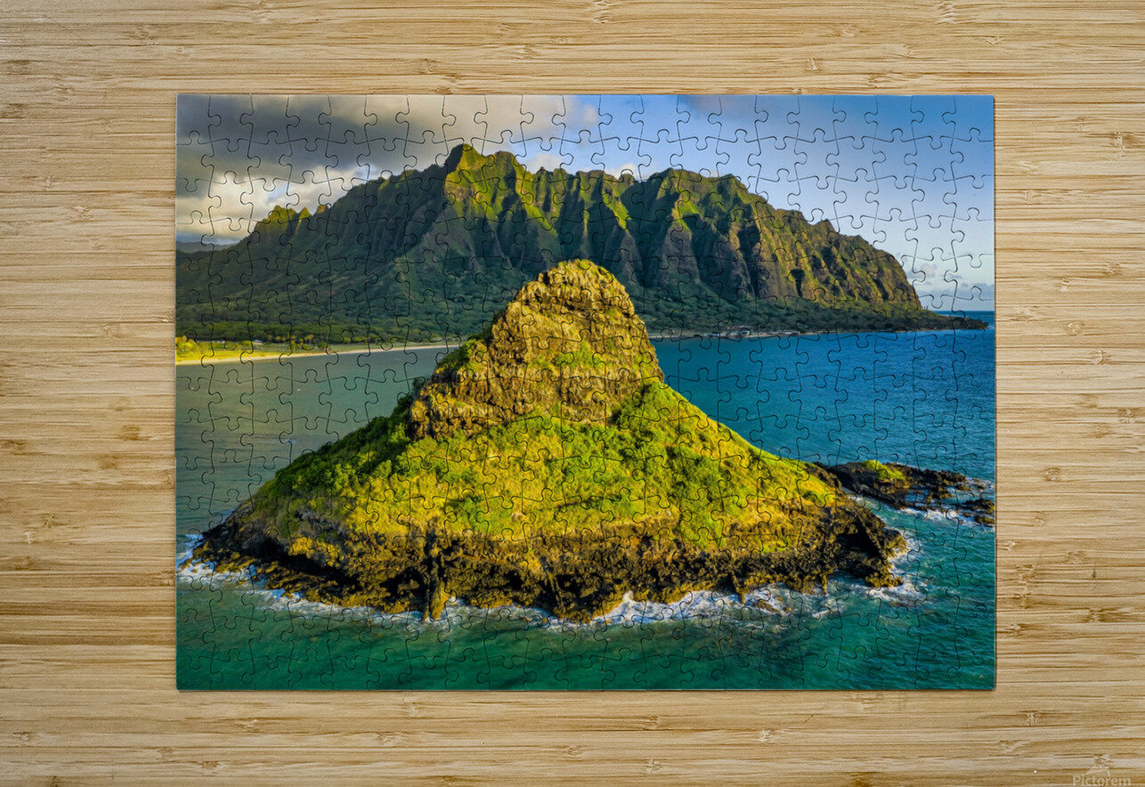 Mokolii   HD Metal print with Floating Frame on Back