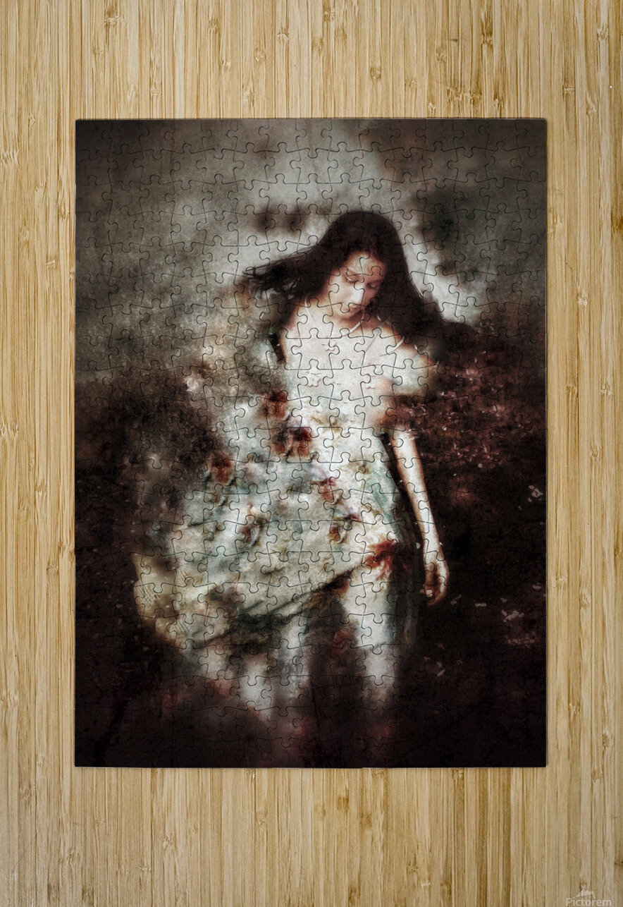 Clothed with Strength and Dignity  HD Metal print with Floating Frame on Back