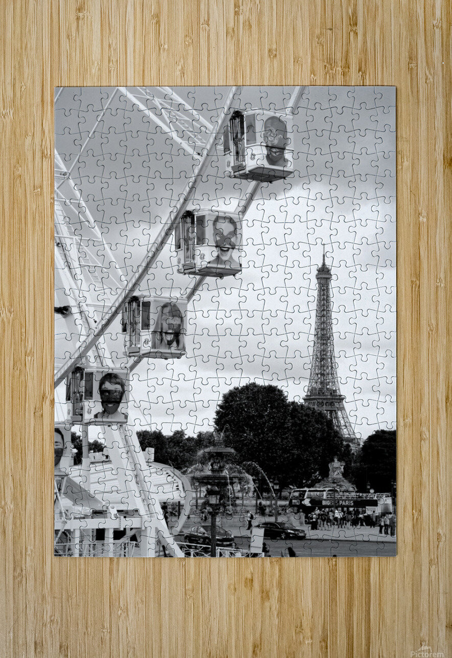 La grande roue  HD Metal print with Floating Frame on Back