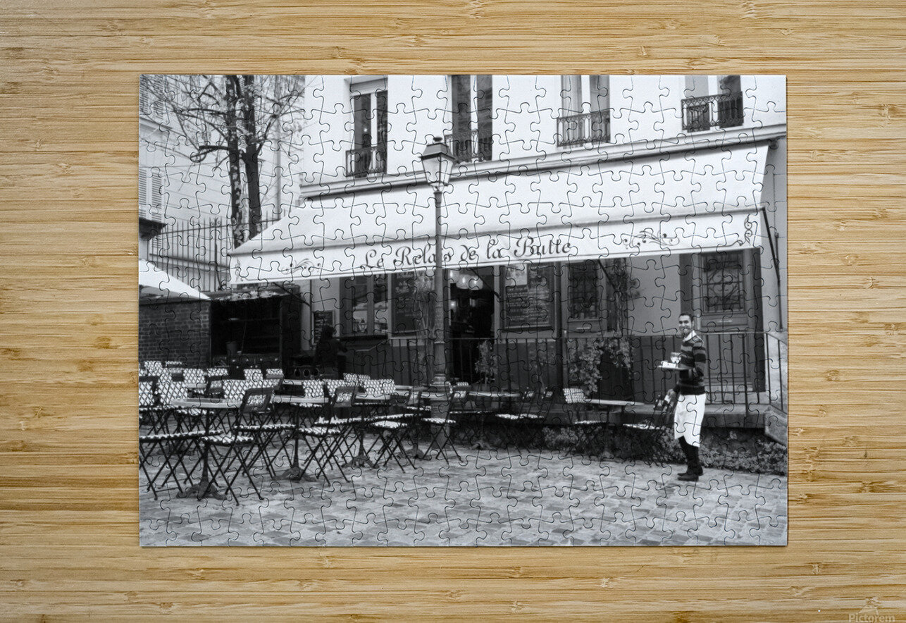 Les Abesses  HD Metal print with Floating Frame on Back