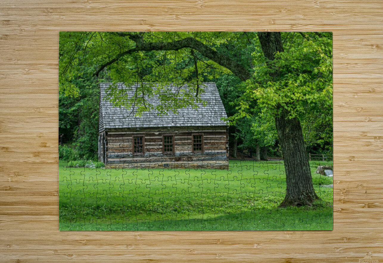Spring Mill State Park - Mitchell - Indiana  HD Metal print with Floating Frame on Back