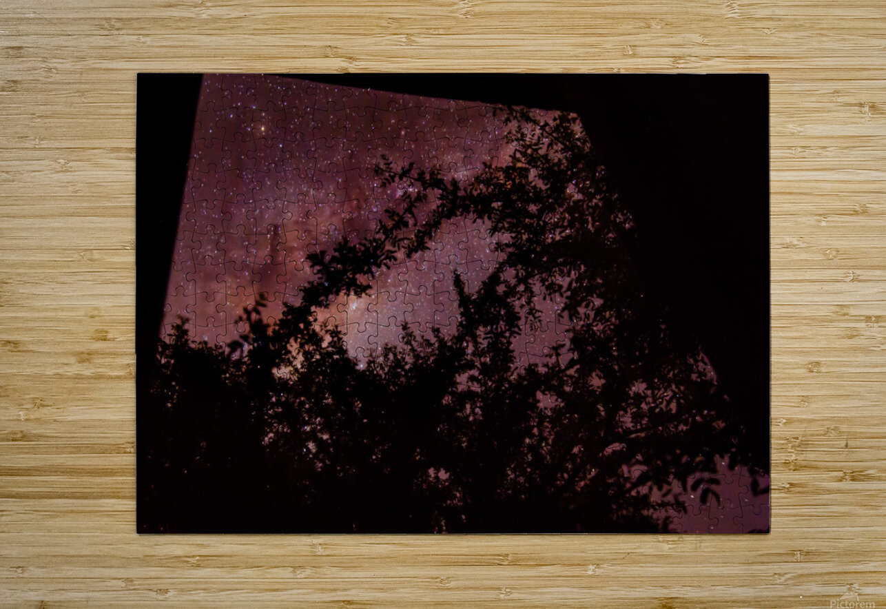Bow To The Heavens  HD Metal print with Floating Frame on Back