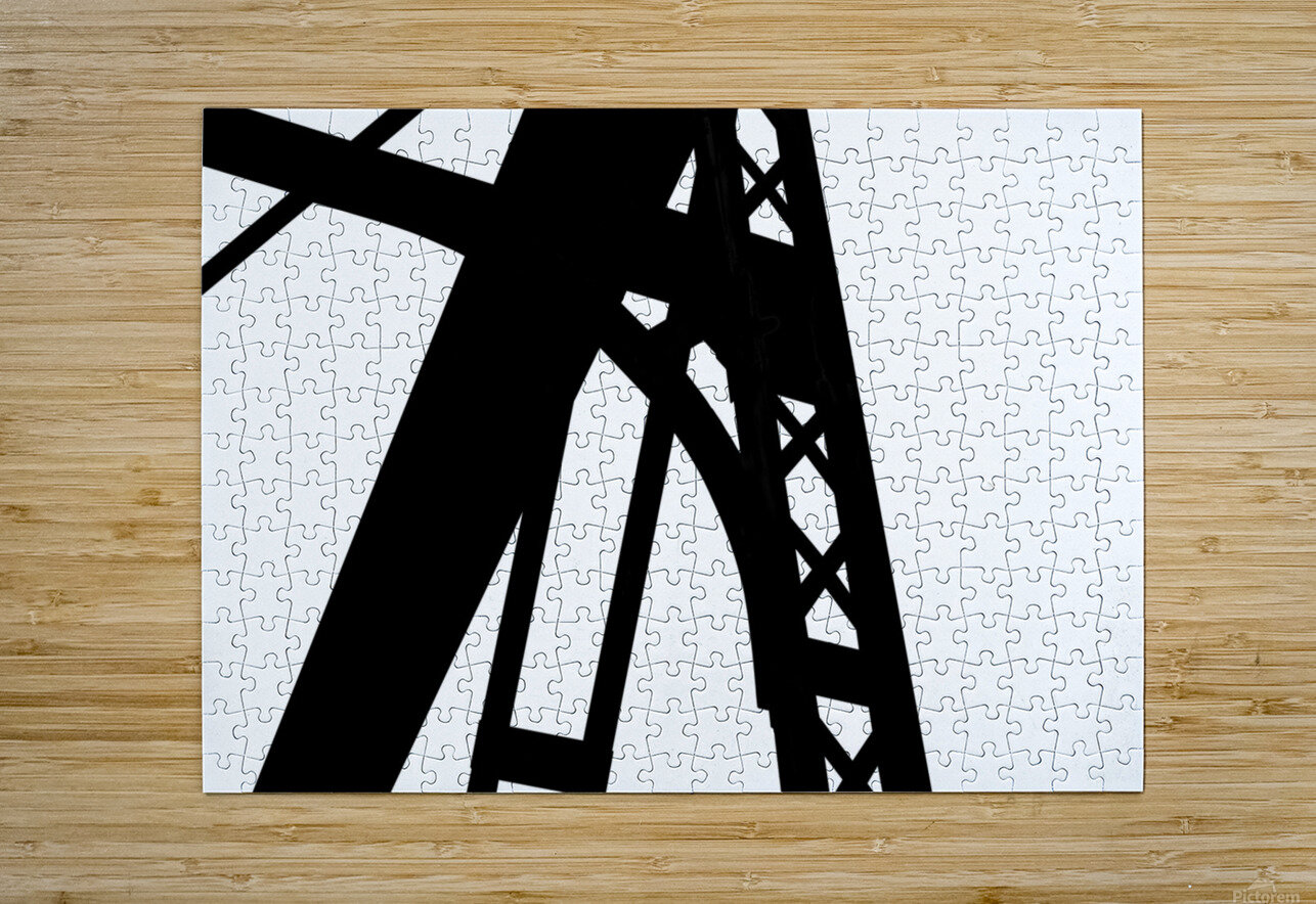 Bridge - XXVI  HD Metal print with Floating Frame on Back