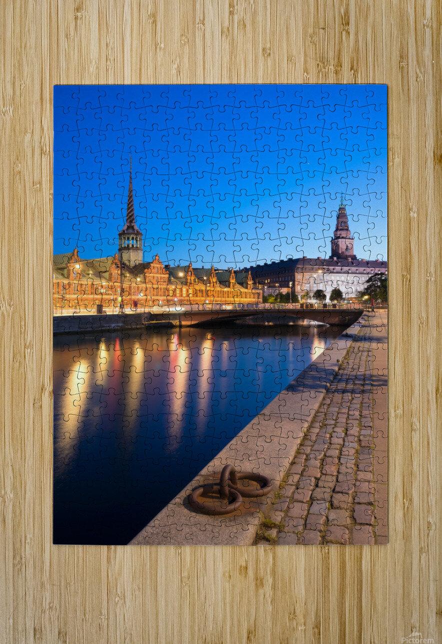 COPENHAGEN 04  HD Metal print with Floating Frame on Back