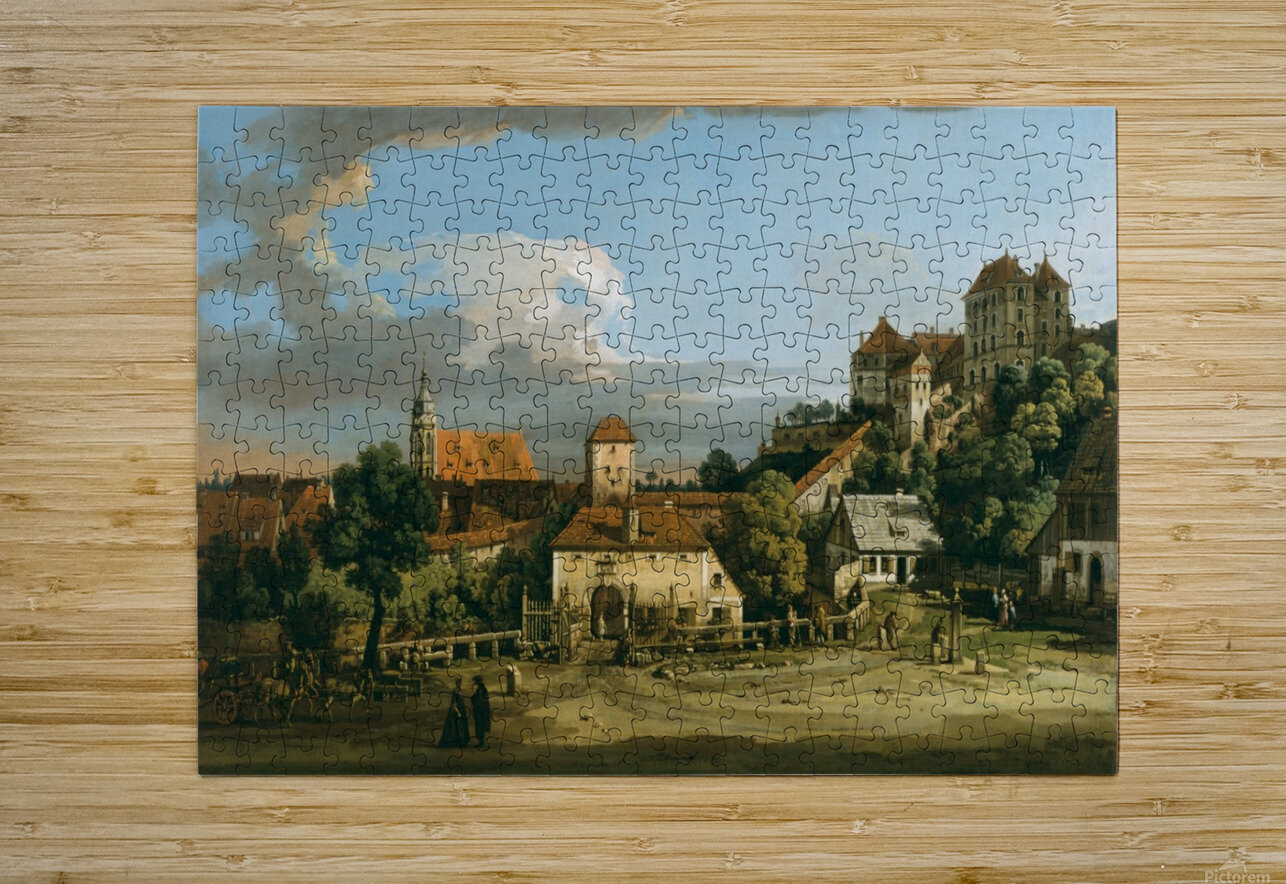 The Obertor from the South  HD Metal print with Floating Frame on Back