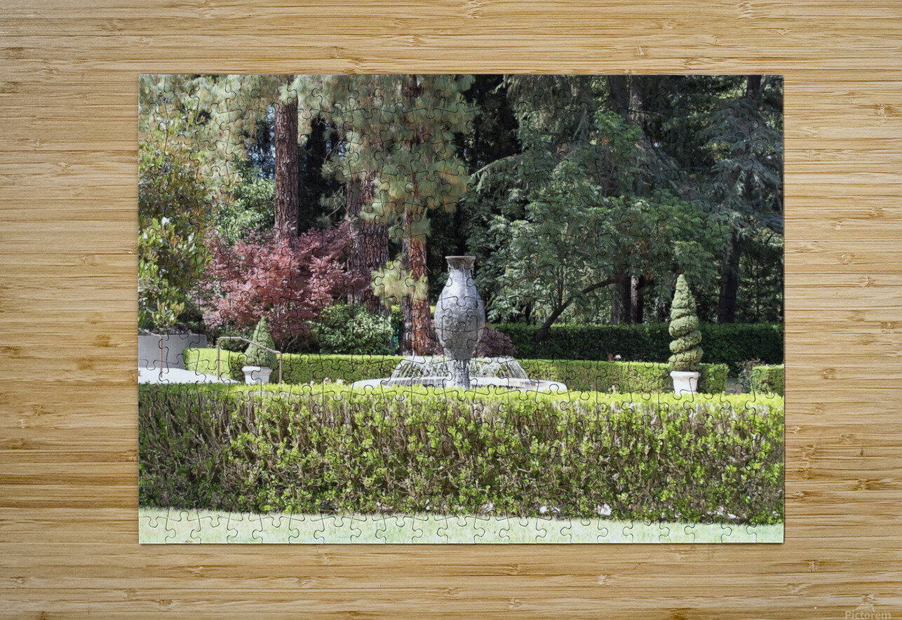 Napa Vally California CA02  HD Metal print with Floating Frame on Back