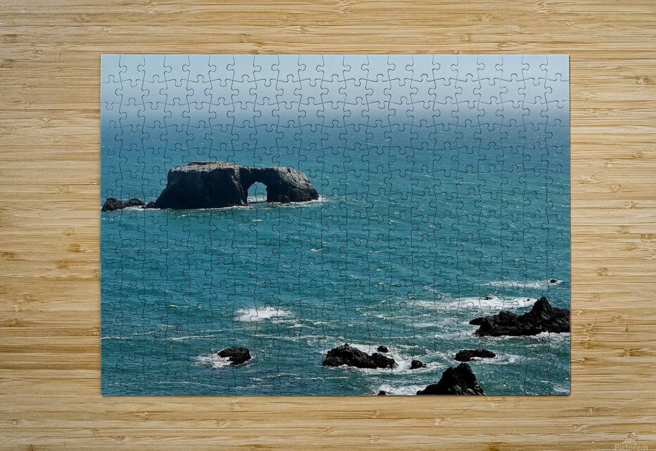 Pacific Coast Highway Clifornia CA 14  HD Metal print with Floating Frame on Back